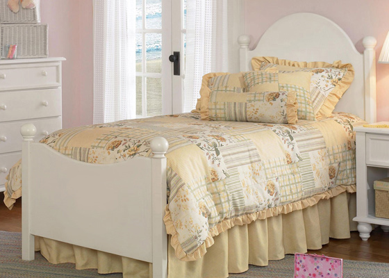 children's bedroom furniture - cottage bed for girl