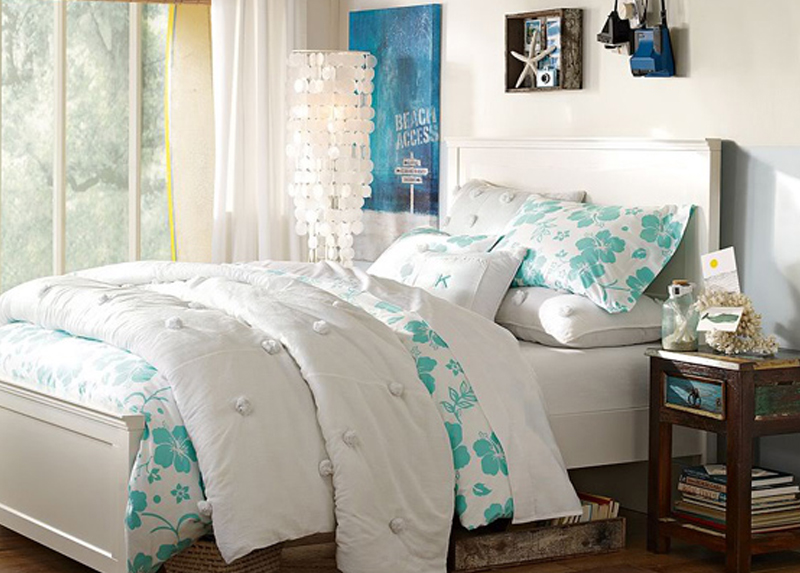 children's bedroom furniture - coastal bed for girl or boy