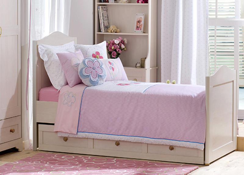 children's bedroom furniture - abigail bed for girl