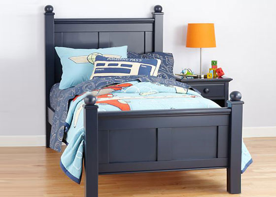 children's bedroom furniture - colonial bed for boys