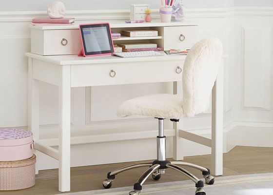 children's bedroom furniture - modern desks for boys and girls